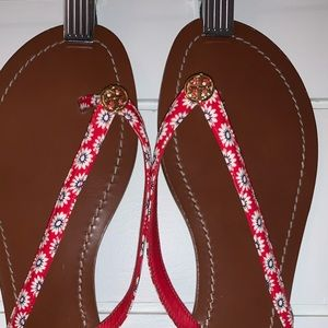 Tory Burch terra thong sandals size 9.5